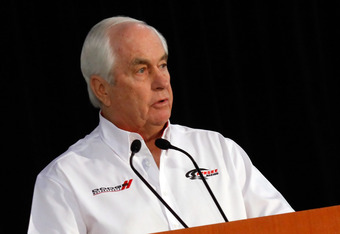 MOORESVILLE, NC - JANUARY 24: Team owner Roger Penske speaks to the media,  during the NASCAR Sprint Media Tour hosted by Charlotte Motor Speedway, held at Penske Racing on January 24, 2011 in Mooresville, North Carolina. (Photo by Jason Smith/Getty Image