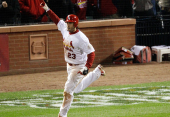 St. Louis native David Freese could evolve into the face of the Cardinals with Albert's departure.