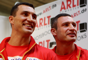 "Barrett says the Klitschkos are ""two old trees in the heavyweight forest, taking up space."""