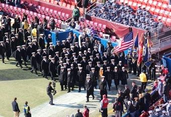 """Navy Midshipmen """"March On"""" (K.Kraetzer)"""