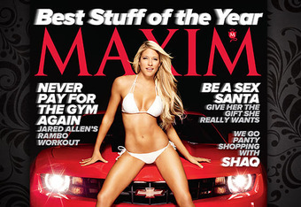 Kelly Kelly's high-profile Maxim magazine shoot may lead to bigger and better things.