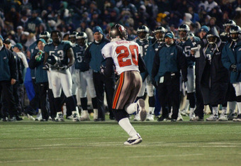 Ronde Barber ran away with the Eagles' Super Bowl dreams in 2002.