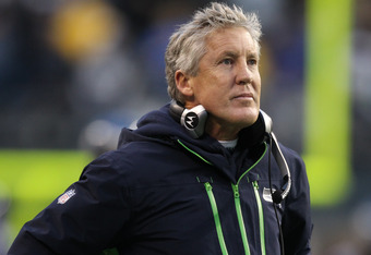 Pete Carroll is certainly putting his stamp on this team, focusing on defense and ball control on offense.