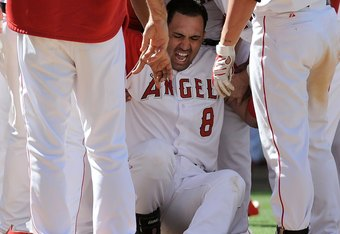 Morales has been sidelined for over one-and-a-half years with a lower leg injury sustained during a walk-off grand slam.