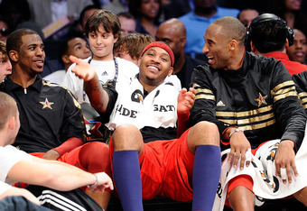 We know you got what you wanted Carmelo, to bad David Stern said you're two buddies couldn't play together.