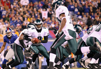 Young found DeSean four times for 88 yards against the Giants.