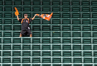 Orioles fans don't have much else to cheer about these days