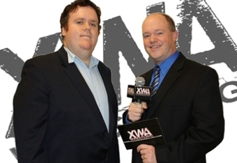 XWA announcers Coug and JD
