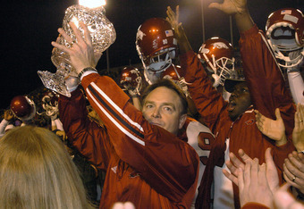 Houston Nutt helped turn around the Razorback program.