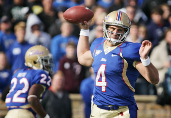 Statistics don't do G.J. Kinne justice; the Tulsa quarterback is a gunslinger, and can make defenses pay with his arm.