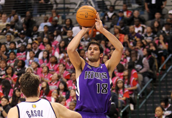 Temper your enthusiasm about Casspi. He might be good, but definatley not great.