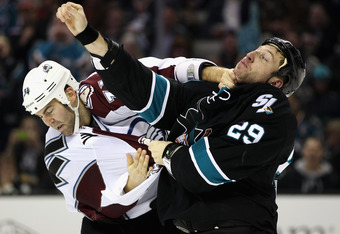 Though fighting is a routine part of hockey and the NHL, if a player were to use a hockey stick as a weapon or maliciously use his skates to seriously injure his opponent, that player would be subject to arrest.