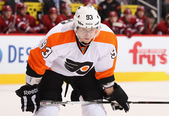 Upcoming free agent Jakub Voracek could be trade bait with 20 points in 30 games.