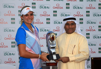16 year old Alexis Thompson won in Dubai