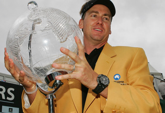 Ian Poulter adds a Gold Jacket to his wardrobe
