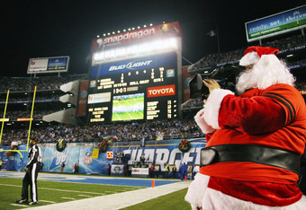 This game was an early Christmas present for the Chargers. Not at all for the Ravens.