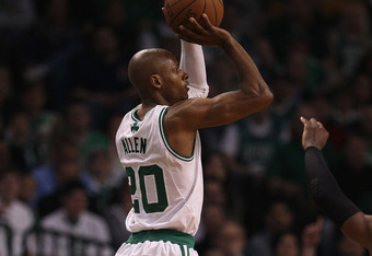 Ray Allen's health and his ability to knock down open jump shots will be a major factor in how far this Celtics team goes.