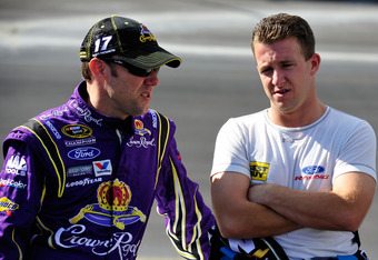 Kenseth & Allmendinger's seasons just went in opposite directions with today's announcement.