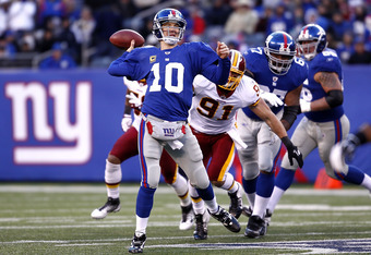 Eli Manning leads the Giants in the battle of New York!