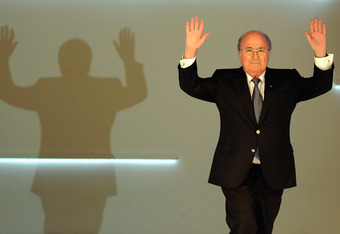 Blatter and his shadow