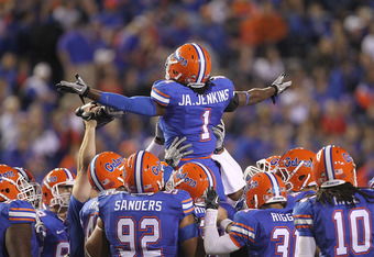 Jenkins before he was kicked off the Gators