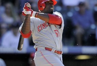 Willis hit .387 for the Reds last season
