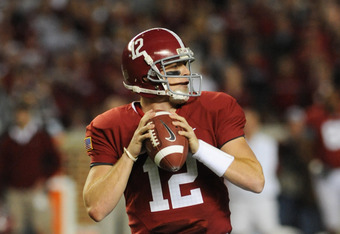 Greg McElroy was outstanding, but A.J. McCarron is just better.