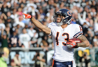 Johnny Knox:  Best wishes