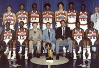The 1978 NBA Champion Washington Bullets.