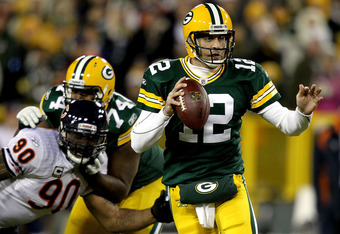 Hopefully Rodgers enjoys success playing his first home playoff game