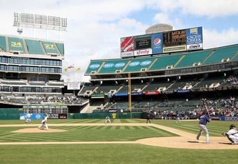 Only 12,000 die-hard A's fans witnessed Dallas Braden's perfect game against the Rays on May 9, 2010. It was a weekend day game at the Coliseum, too.