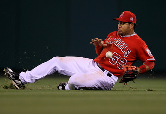 Abreu has already been removed from the Angels' starting outfield. Will the return of Morales mean the end of Abreu's reign at DH?
