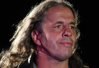 DURBAN, SOUTH AFRICA - JULY 08:  Special guest referee Bret 'The Hitman' Hart during the WWE Smackdown Live Tour at Westridge Park Tennis Stadium on July 08, 2011 in Durban, South Africa.  (Photo by Steve Haag/Gallo Images/Getty Images)