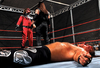 Ultimately, Kane decided the winner of this match
