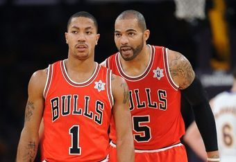 Derrick Rose has been deferring to teammates Carlos Boozer and Richard Hamilton to lead the Chicago Bulls in scoring. However, both Boozer and Hamilton are struggling offensively.