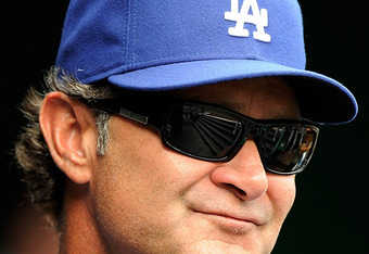 Dodger Skipper Don Mattingly
