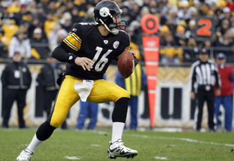 Charlie Batch is 5-2 since 2005 as the Steelers' starting quarterback.