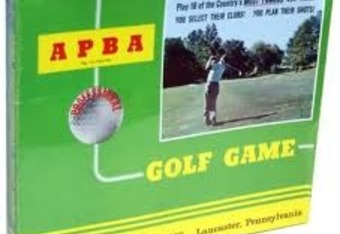 "The original ""computer"" golf game"