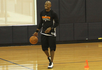 Corey Maggette will be relied upon to be a leader on this young Bobcats team.    david w. walters/bobcats.com