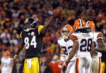 Steelers MVP Antonio Brown is leading way towards playoff run