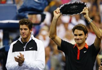 Juan Martin Del Potro ended Federer's run at the 2009 US Open.