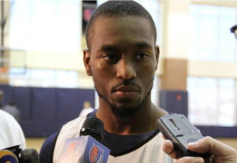 Kemba Walker has played well off the bench for the Bobcats this season, averaging 11.5 points, 3.5 assists and three rebounds per contest.   David W. Walters/bobcats.com