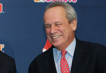 Boston Red Sox President Larry Lucchino