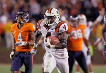 David Wilson and Virginia Tech will provide a tough match up for Michigan.