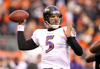 Flacco has been decent in the postseason, but not good enough to get to a Super Bowl