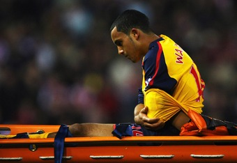 Fitness has been a problem for Walcott