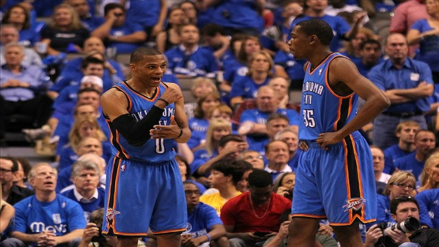 Kevin Durant And Russell Westbrook Best Friends With westbrook and durant.