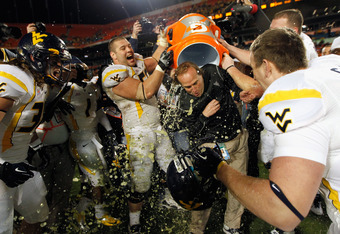 With Tavon Austin back for a final year, Dana Holgorsen might have to brace himself for a few more Gatorade showers