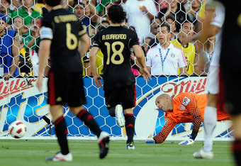 Mexico defeated the USA to win the 2011 Gold Cup