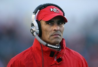 Herm Edwards has better coaching numbers than Fisher.